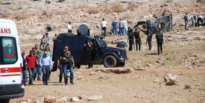 Mardin'de hain saldırı: 4 şehit