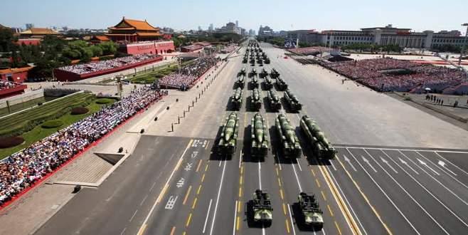 Çin'den dünyaya büyük gözdağı!