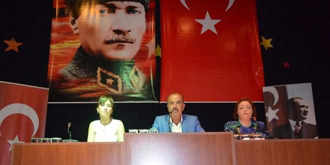 Mudanya'da Başkan'a şok