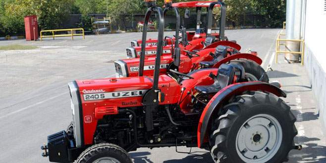 Türk malı traktörler Etiyopya'da