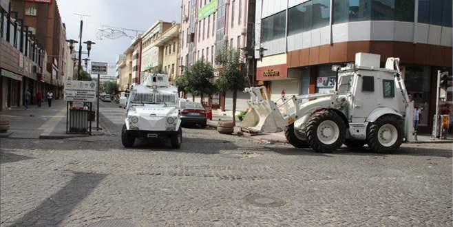 Diyarbakır`da sokağa çıkma yasağı