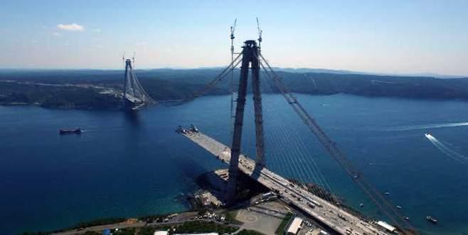 3. köprüde iki yakanın birleşmesine 648 metre kaldı