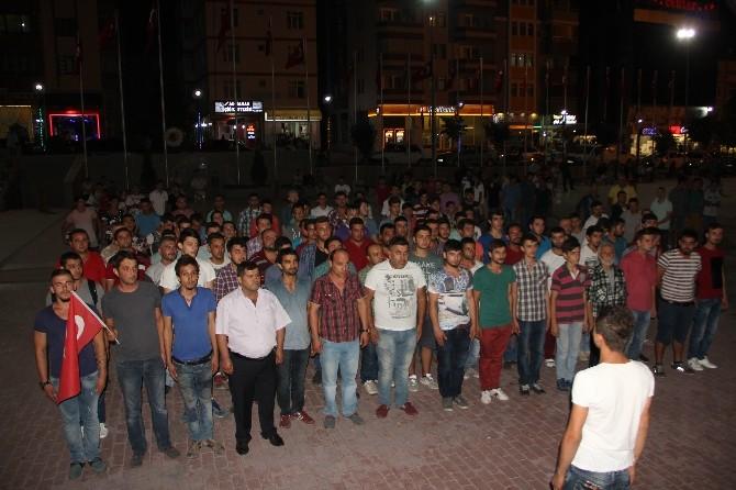 Safranbolu'da 400 Araçlık Teröre Tepki Konvoyu