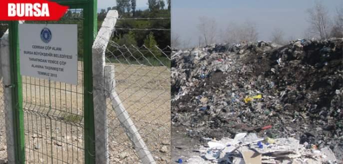 Bursa'da çöplükler ıslah ediliyor