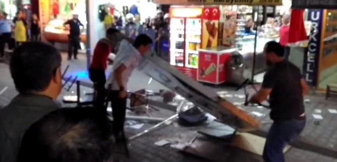 Bartın'da HDP İl Binasına Saldırı