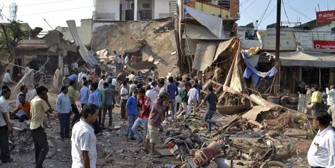 Tüp patladı: 82 ölü