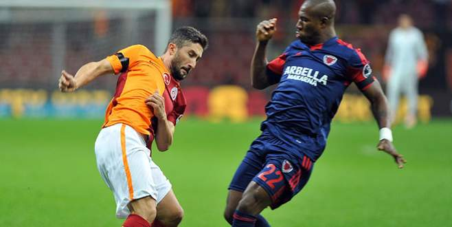 Galatasaray kayıplarda: 1-1