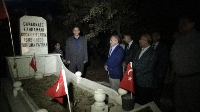 Bakan Topçu, Çanakkale Kahramanı Koca Seyit'in Köyünü Ve Mezarını Ziyaret Etti