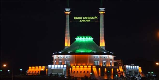 Camiden Bursa halkına anlamlı mesaj