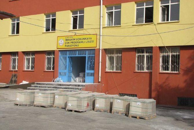 Ağın İlçesinde Okullar Modern Görünüme Kavuşuyor