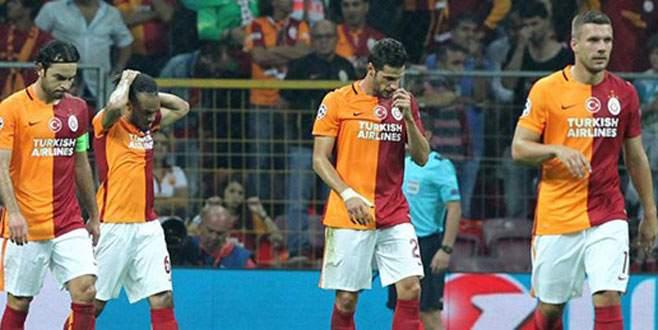 Galatasaray'dan Devler Ligi'ne kötü başlangıç