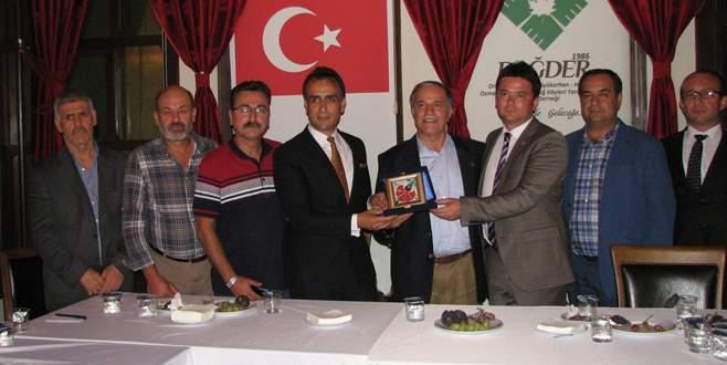 Erkan Aydın'dan Dağ-Der'e ziyaret