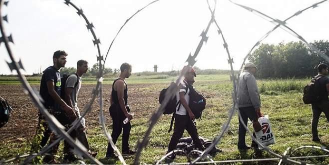 Sınırlarına tel örgü çekecekler