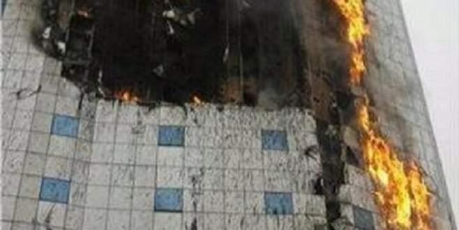 Mekke'de otel yangını