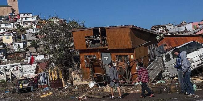 8,3 büyüklüğündeki depremde ölü sayısı artıyor