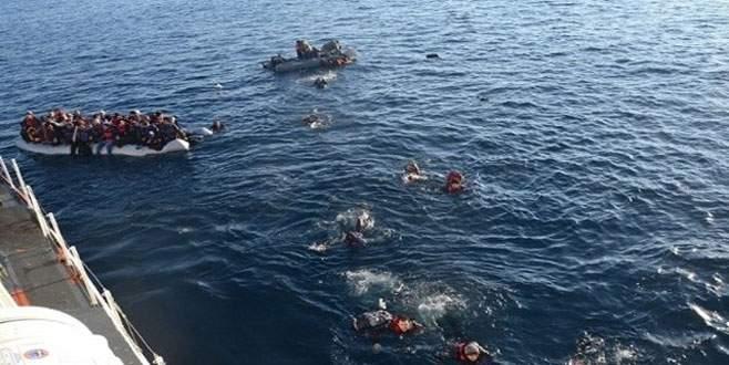 Ege'de bir göçmen faciası daha: 13 ölü