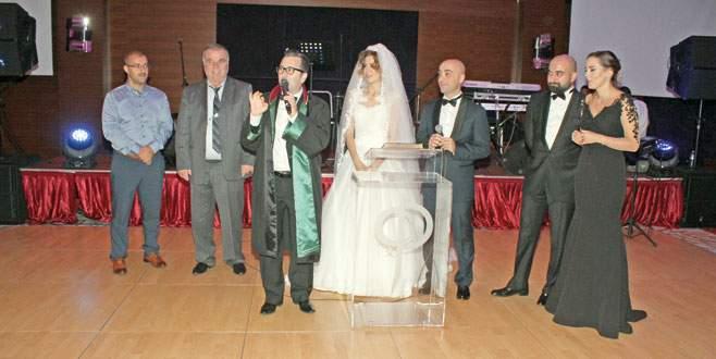 Düğünde Zakoğlu sürprizi