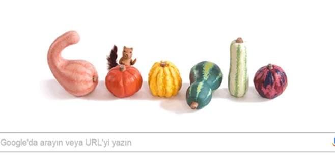 Google'dan sonbaharın ilk gününe özel logo