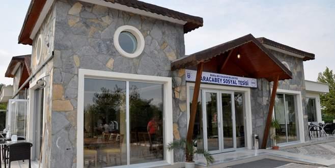 Karacabey sosyal tesisi hizmete başlıyor