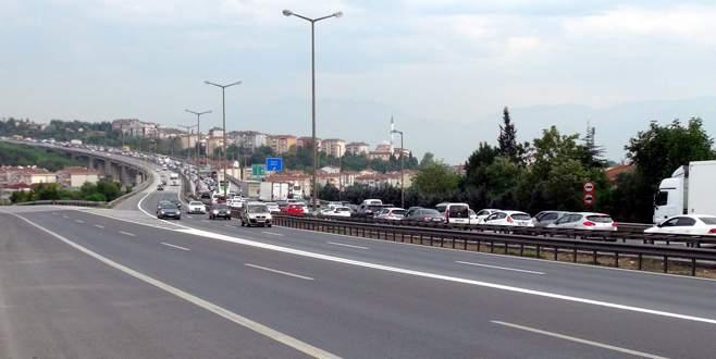 Bayram trafiğinde Arefe hareketliliği