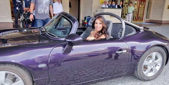 Beyonce'un arabası Linet'in klibinde