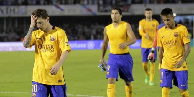 Barcelona Celta Vigo'ya 4-1 mağlup oldu