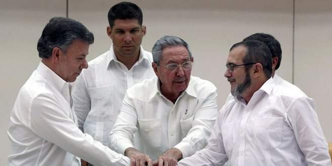 Kolombiyada tarihi anlaşma
