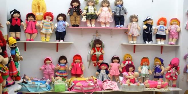 Bursalı 'Sultan' bebekler 'Barbie'yi tahtından indirecek!