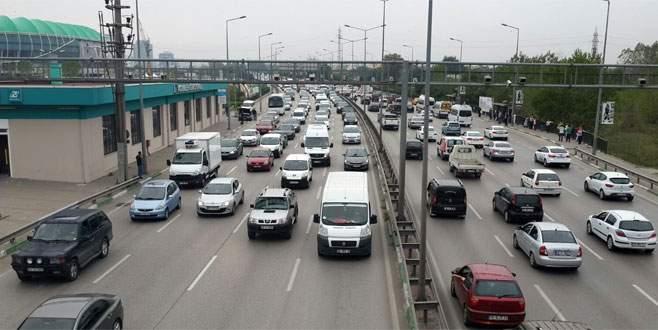 Trafikte ilk gün çilesi
