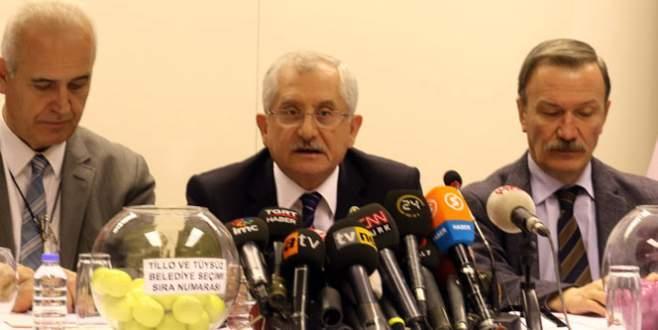 YSK Başkanı Güven: Sandıkların birleştirilmesi…