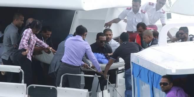 'Devlet Başkanı'nın teknesinde patlama