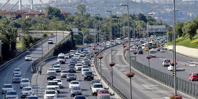 Araç sayısı 13 yılda yüzde 125 arttı