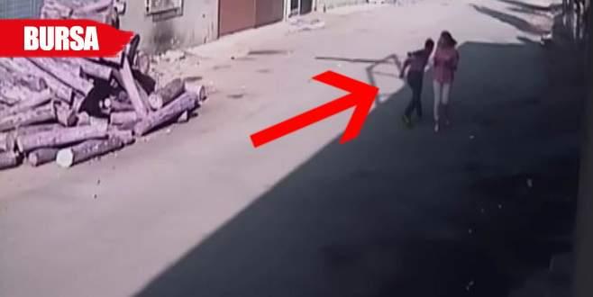 Suriyeli kapkaççı, kızın elinden telefonu alıp…