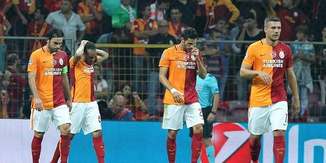 Galatasaray 'Devler Ligi'nde galibiyete hasret