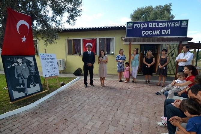 Foça Belediyesi Çocuk Evi'nde Yeni Eğitim Yılı Başladı