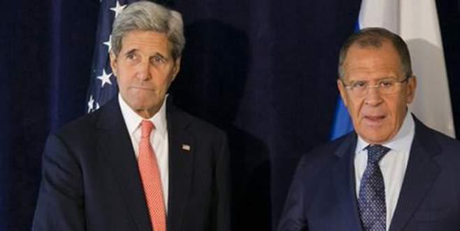 Kerry: Rusya ile temel prensiplerde anlaştık