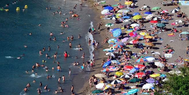 Sekiz ayda 25,5 milyon turist