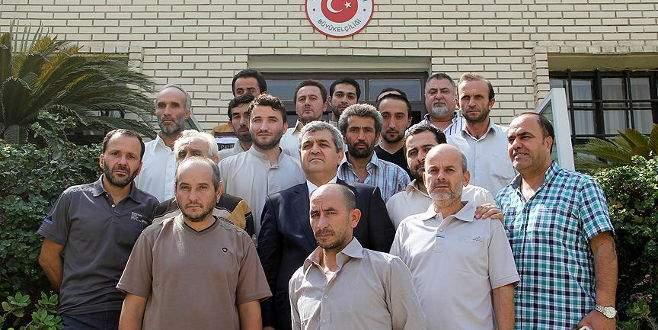 Irak'ta kaçırılan Türk işçiler serbest!