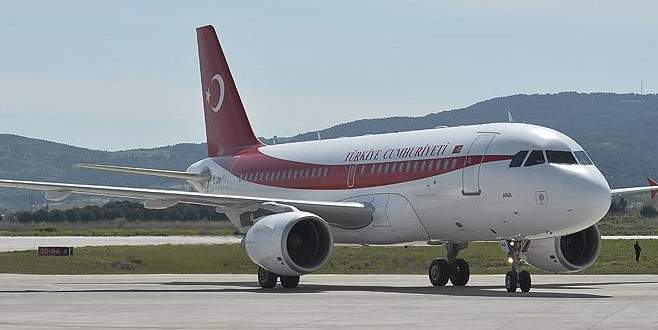 Erdoğan, 'ANA' uçağını Bağdat'a gönderdi