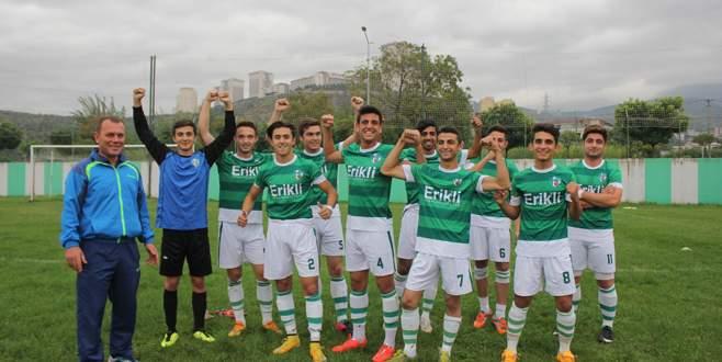 Kestel Belediyespor açık ara şampiyon