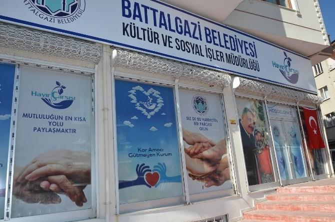 Battalgazi Belediyesi, Hayır Çarşısı'nı Hizmete Açıyor