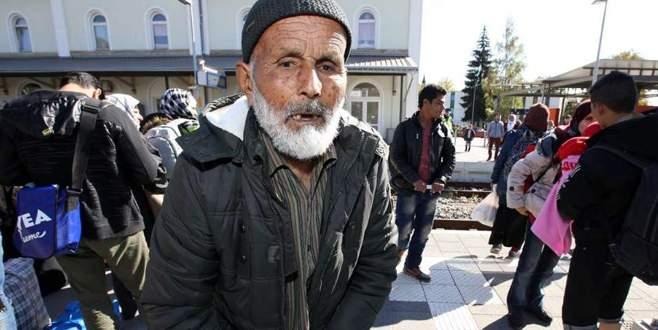 110 yaşında iltica etti