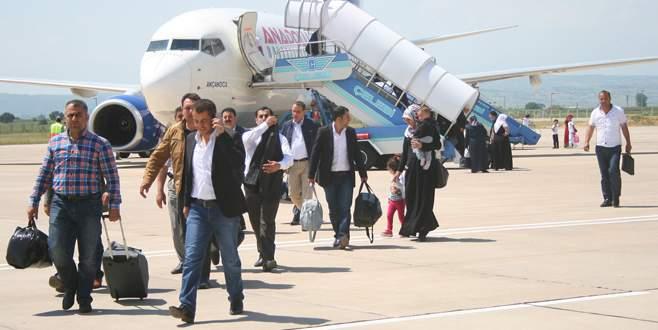 Yenişehir, 122 bin kişiyi uçurdu