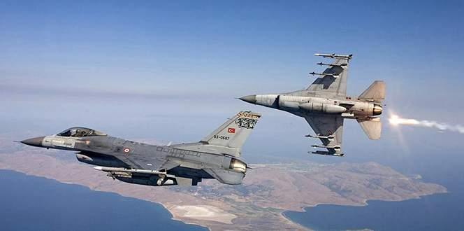 Kuzey Irak'a hava harekatı: 35 terörist öldürüldü