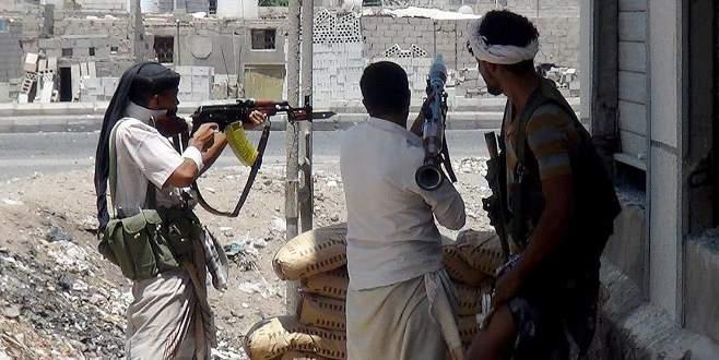 Yemen'de çıkan çatışmalarda 77 kişi öldü