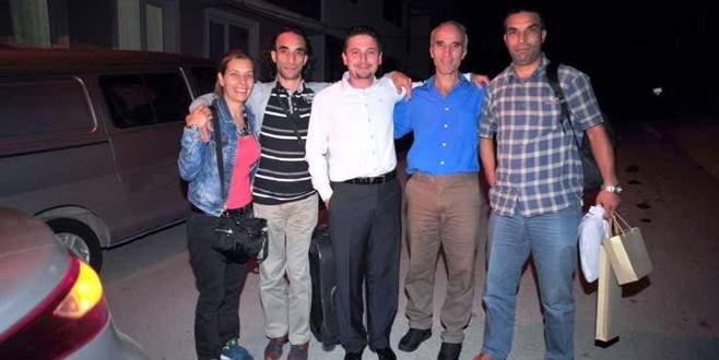 Irak'ta alıkonulan işçi Orhangazi'deki evine döndü