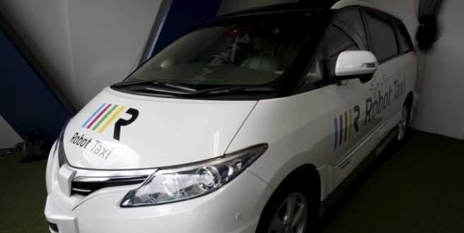 'Robot taksi'ler 2020'de yolda