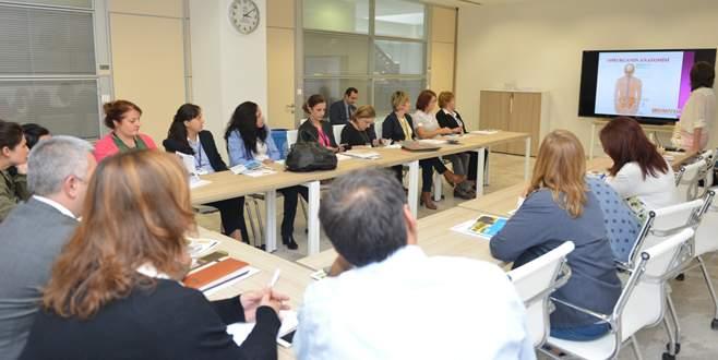 Belediye çalışanlarına sağlık semineri