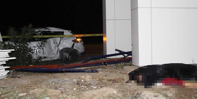 Bursa'da alkollü sürücü dehşeti: 1 ölü, 3 yaralı