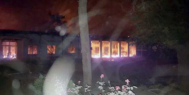 Afganistan'da hastaneye saldırı